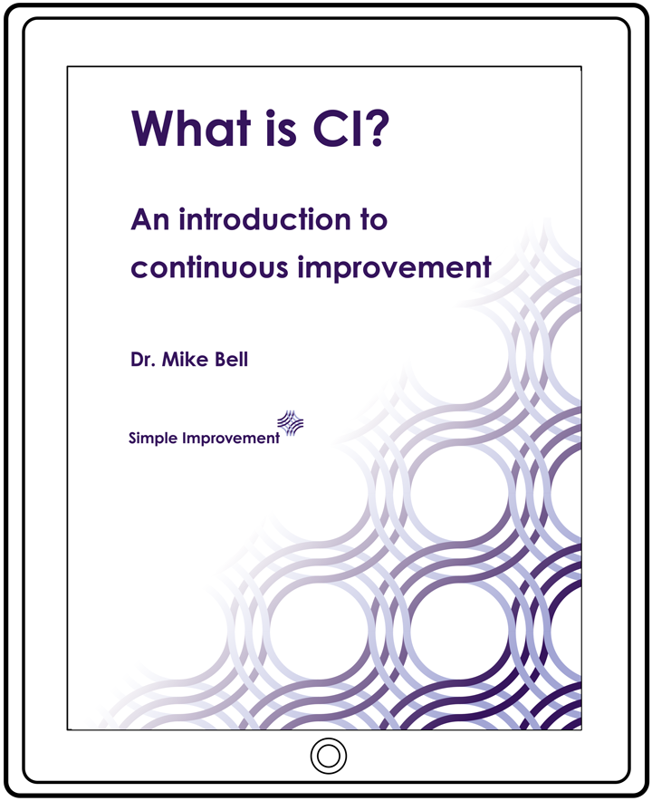 What is Continuous Improvement by Dr Mike Bell